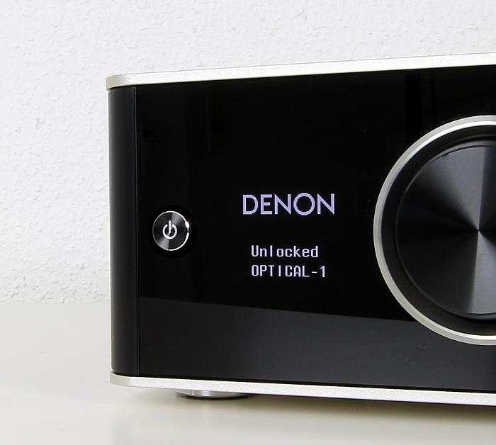 Denon PMA-50 Display Bedienelement Front