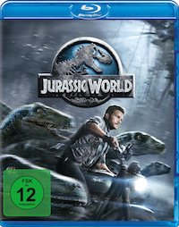 Jurassic World Blu-ray Disc