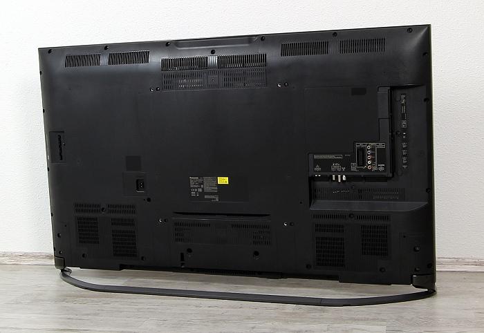Panasonic TX-55CXW804 Rueckseite Seitlich