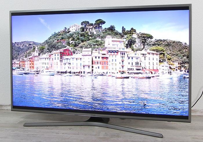 Samsung UE50JU6850 Front Seitlich1