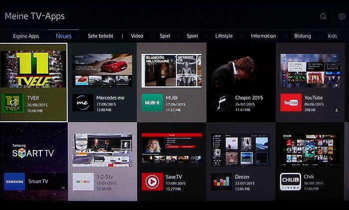 Samsung UE50JU6850 Screenshot 24