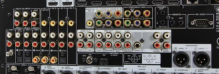 Yamaha CX-A5100 Anschluesse Rueckseite2