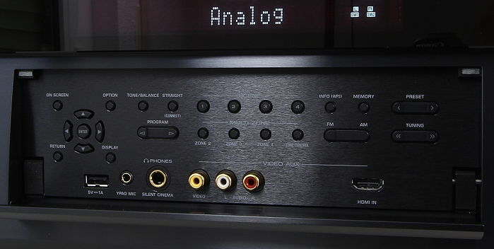Yamaha CX-A5100 Bedienelemente Frontklappe