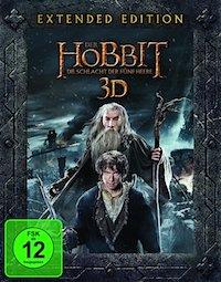 Der Hobbit - Die Schlacht der fuenf Heere - Extended Edition Blu-ray 3D