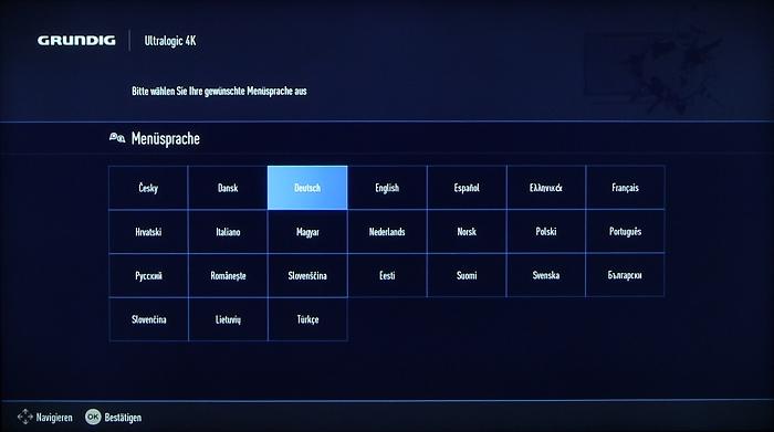 Grundig 48CLX8586SP Screenshot 1