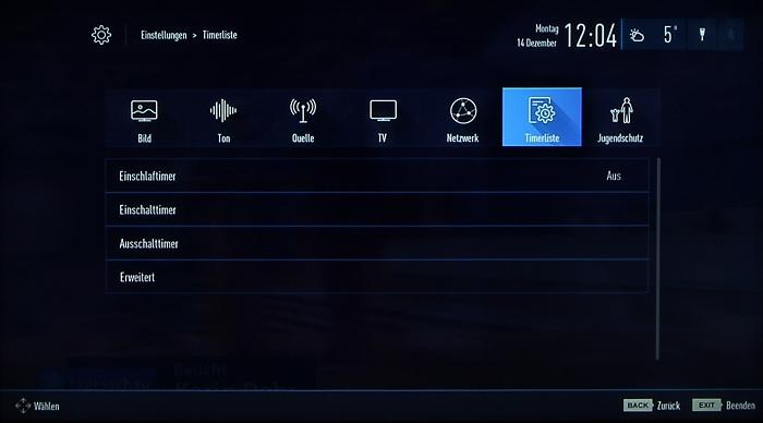 Grundig 48CLX8586SP Screenshot 30