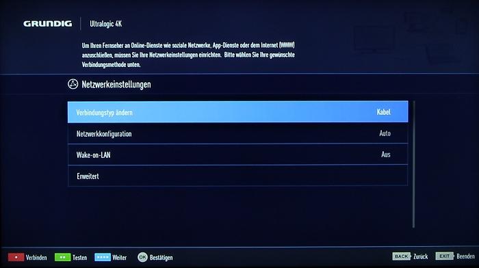 Grundig 48CLX8586SP Screenshot 9
