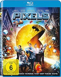 Pixels Blu-ray Disc