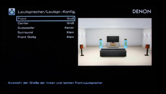 Denon AVR-X4200W Screenshot 2