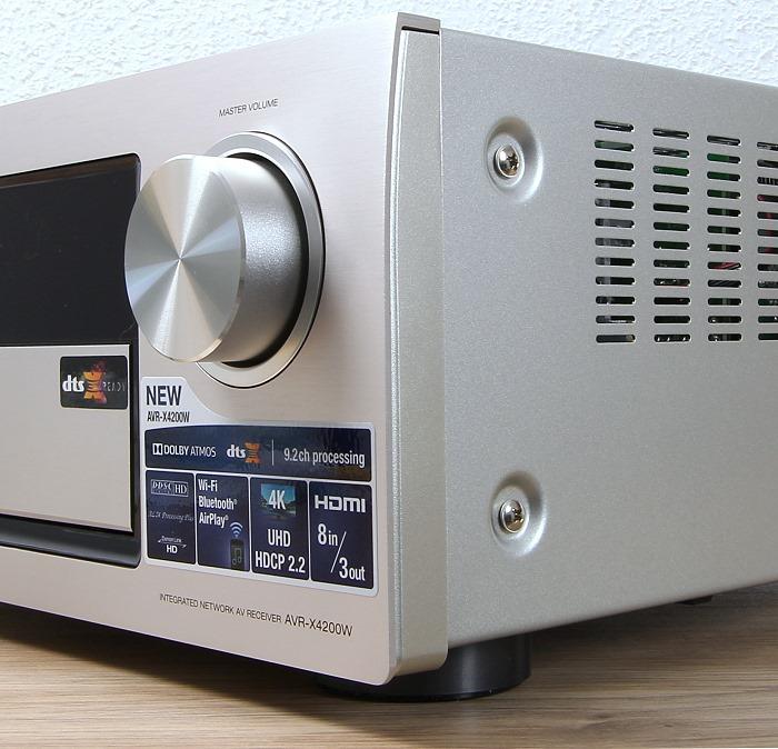 Denon AVR-X4200W Verarbeitung