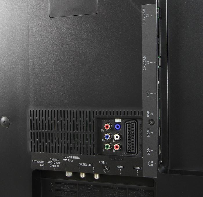 Philips 55PUS7600 Anschluesse Rueckseite2
