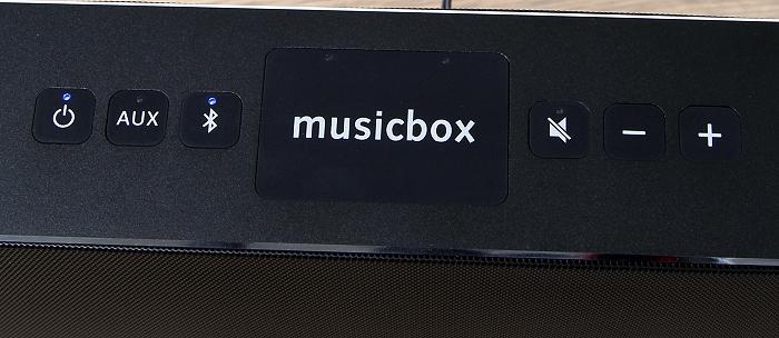 Canton Musicbox S Bedienelemente Oberseite