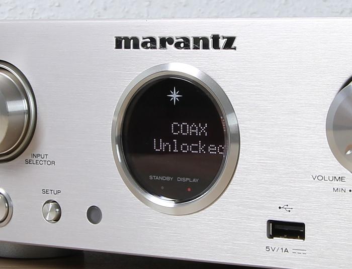 Marantz HD-DAC1 Display