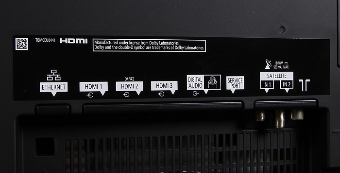 Panasonic TX-65CZW954 Anschluesse Rueckseite2