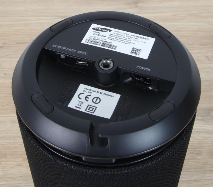 Samsung WAM3500 Anschluesse