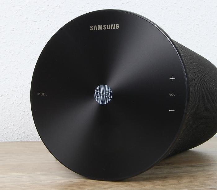Samsung WAM3500 Bedienelemente