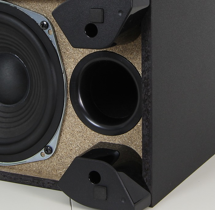 Panasonic SC-ALL70T Subwoofer Bassreflexrohr