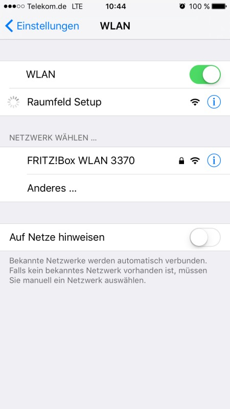 Raumfeld App 11