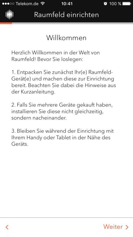 Raumfeld App 2