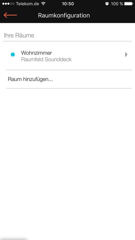 Raumfeld App 25