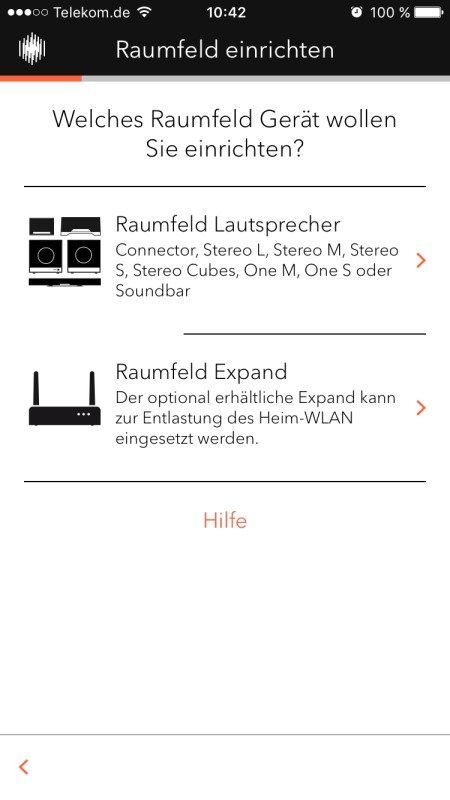 Raumfeld App 3