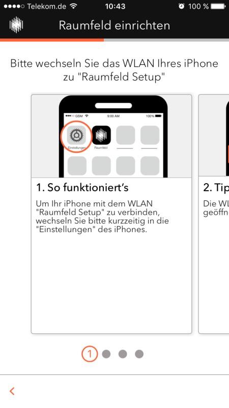 Raumfeld App 7