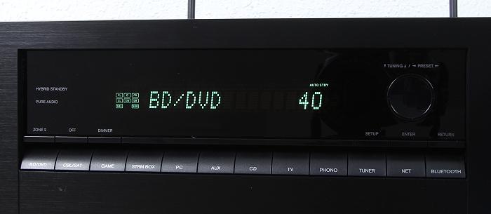 Onkyo TX-NR656 Display