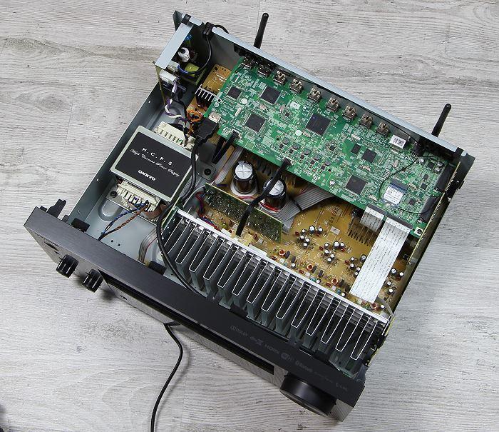 Onkyo TX-NR656 Innenleben Gesamt
