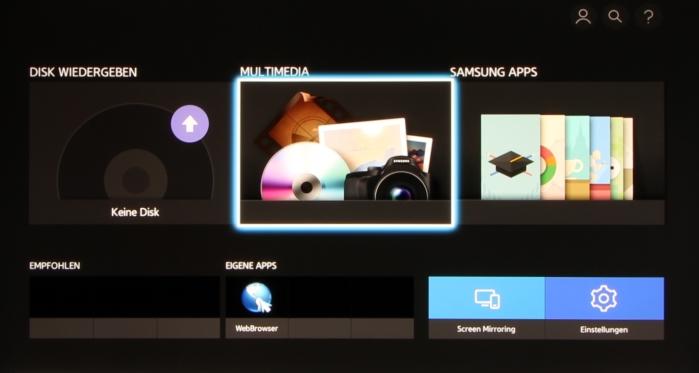 Samsung UBD-K8500 Screenshot 1