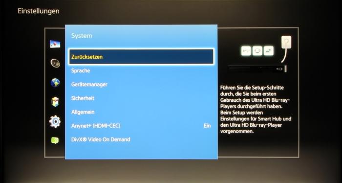 Samsung UBD-K8500 Screenshot 11