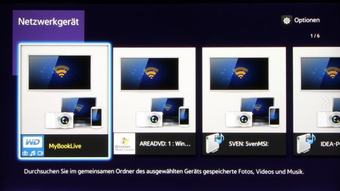Samsung UBD-K8500 Screenshot 3