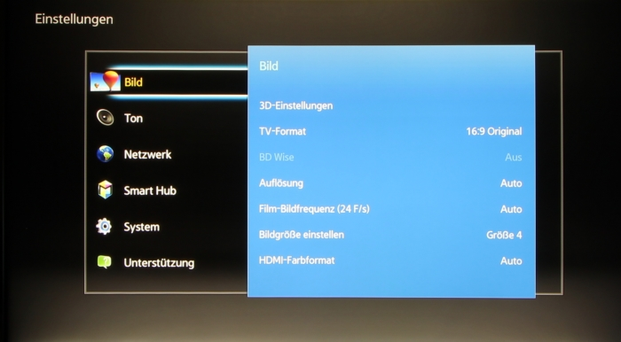 Samsung UBD-K8500 Screenshot 6