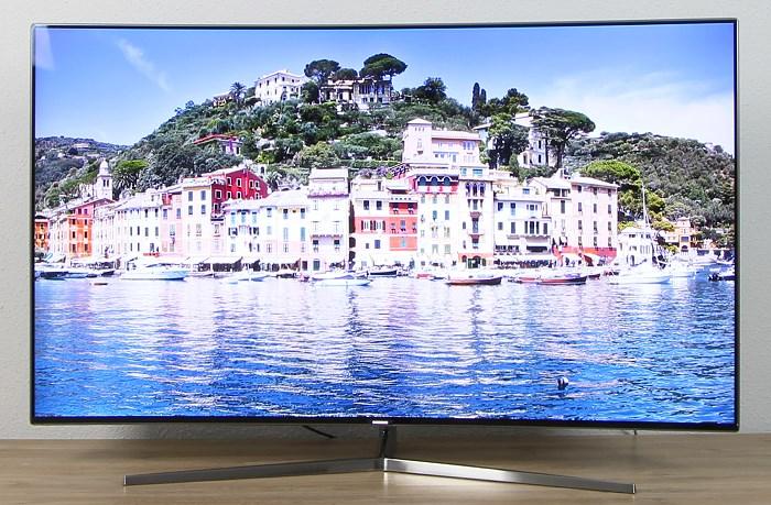 Samsung UE55KS9090 Front Seitlich1