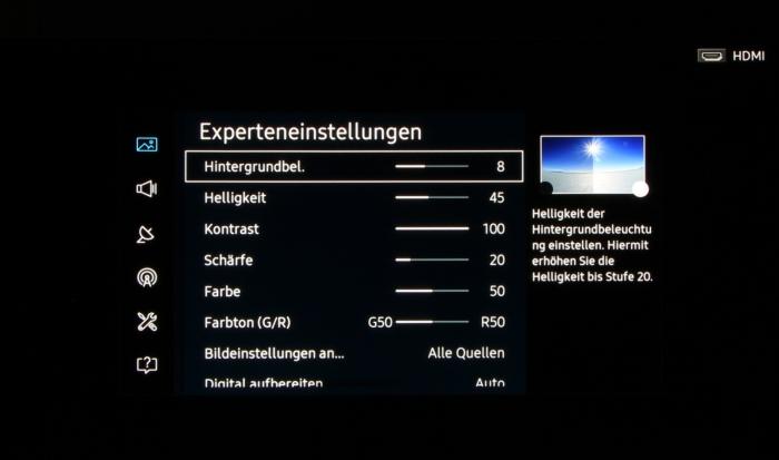 Samsung UE55KS9090 Screenshot 21