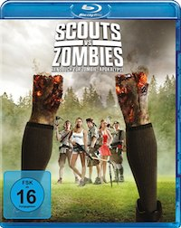 Scouts vs Zombies Blu-ray Disc