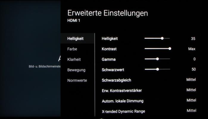 Sony KD-65XD93 Screenshot 20