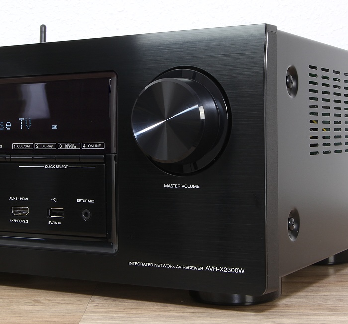Denon AVR-X2300W Bedienelemente Front1