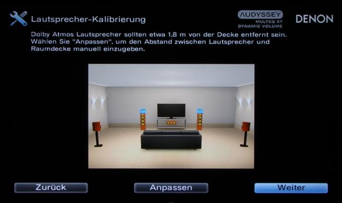 Denon AVR-X2300W Screenshot 11