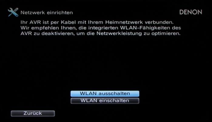 Denon AVR-X2300W Screenshot 17