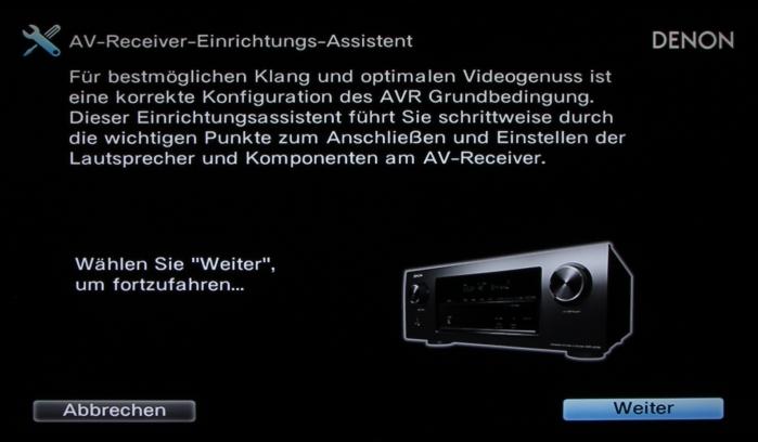Denon AVR-X2300W Screenshot 2