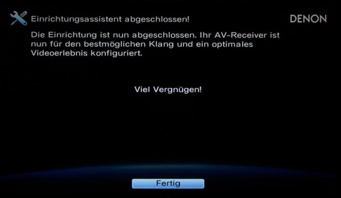 Denon AVR-X2300W Screenshot 21