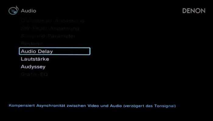 Denon AVR-X2300W Screenshot 27