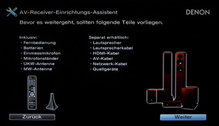 Denon AVR-X2300W Screenshot 3