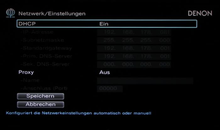 Denon AVR-X2300W Screenshot 35