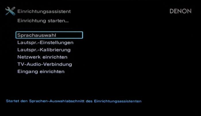 Denon AVR-X2300W Screenshot 38