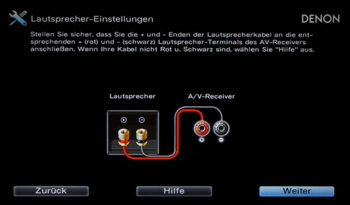 Denon AVR-X2300W Screenshot 5