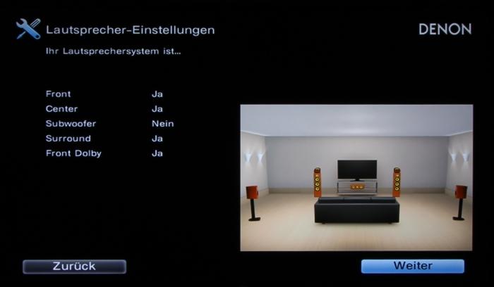 Denon AVR-X2300W Screenshot 7