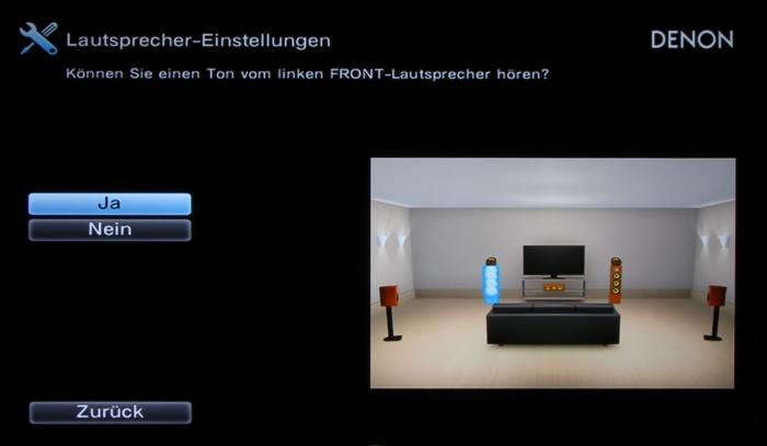 Denon AVR-X2300W Screenshot 9