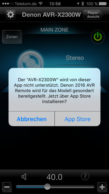 Denon AVR-X2300W_App1