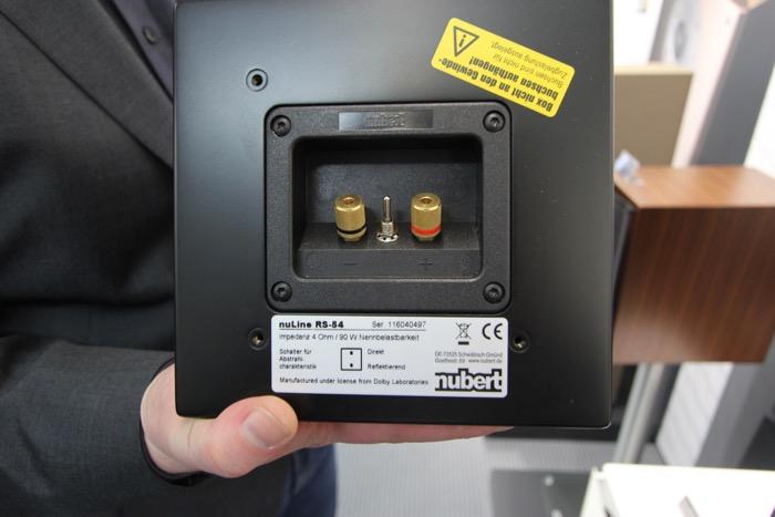 Nubert nuLine RS-54 Umschaltung